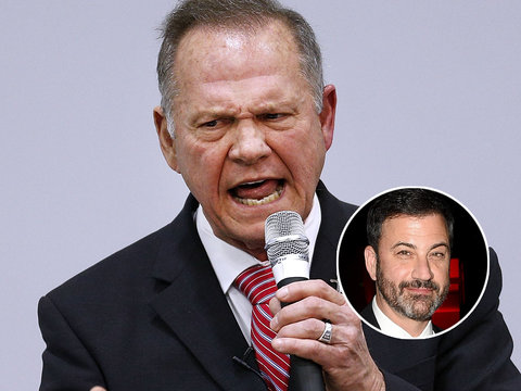 Jimmy Kimmel Trolls Roy Moore on Twitter Over 'Christian Values'