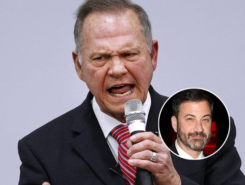 Jimmy Kimmel Trolls Roy Moore on Twitter Over 'Christian Values'