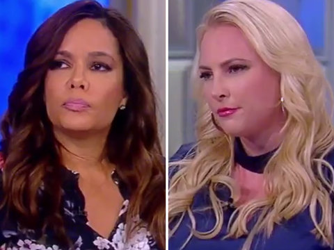 'The View' Gets Incredibly Tense as Hostin, McCain Battle About Trump Voters
