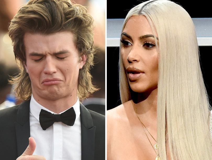 Joe Keery Does Not Give a Crap That Kim Kardashian Watches 'Stranger Things'