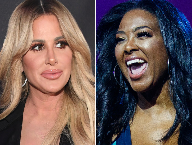 'RHOA' Fight of the Night: Kim Zolciak's Husband Rescues Her From Assaulting Kenya Moore