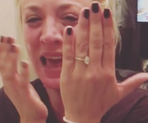 Kaley Cuoco Gets Engaged to Karl Cook on Her 32nd Birthday