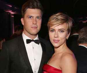 Scarlett Johansson and Colin Jost are Red Carpet Official