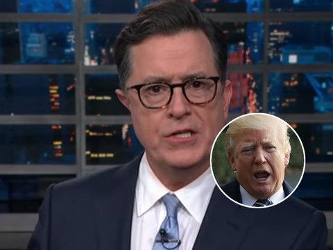 Stephen Colbert Begs Britain to 'Take Us Back' After Trump's Anti-Muslim Tweets