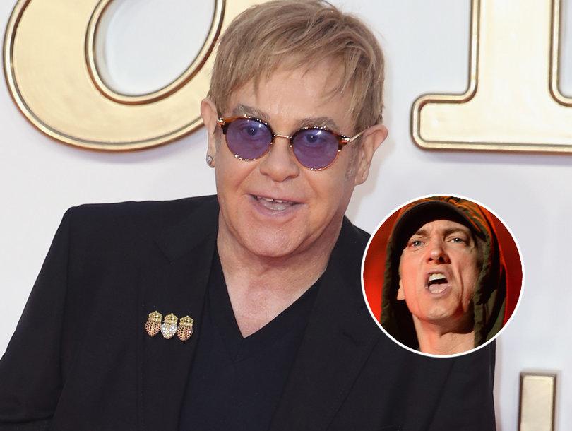 Elton John Reveals Eminem Gave Him and His Husband Sex Toys as Wedding Gifts