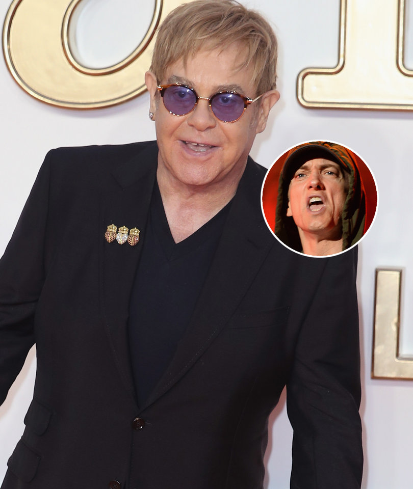 Elton John Reveals Eminem Gave Him and His Husband Sex Toys as Wedding Gifts