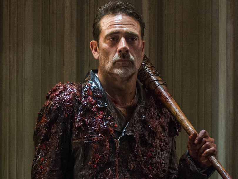 negan will be seeking revenge on walking dead mid season finale