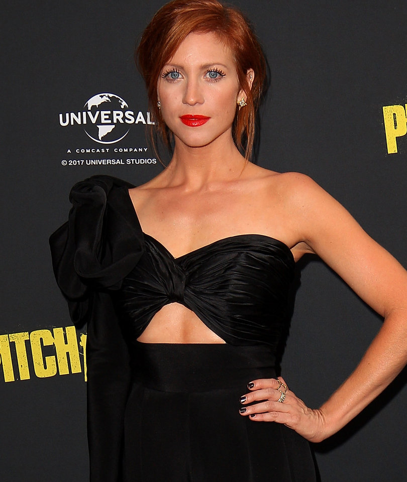 Brittany Snow Does a Scary Good Britney Spears Impression