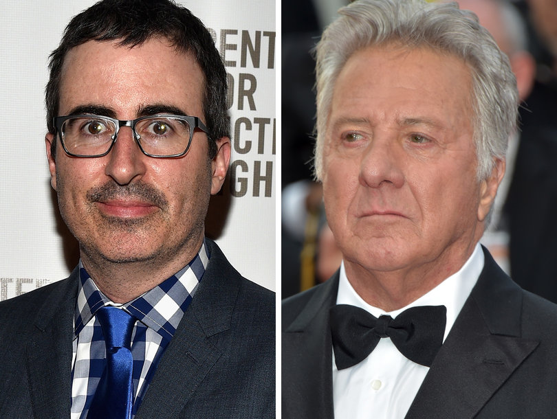 John Oliver Digs Into Dustin Hoffman Over Sexual Harassment