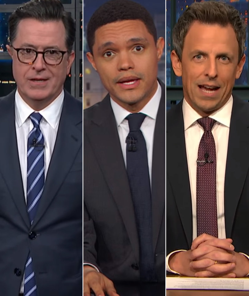 Late-Night Comedians Shred the GOP's 2 AM Tax Bill