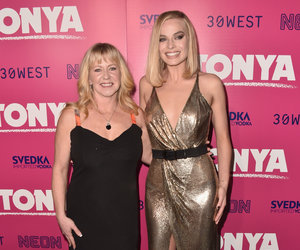 Tonya Harding Hits Red Carpet with Margot Robbie for 'I, Tonya' Screening