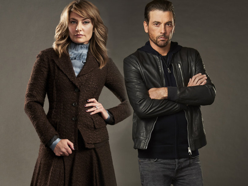 'Riverdale' Star Mädchen Amick Wants Flirtatious Storyline With Skeet Ulrich to Heat Up (Exclusive)