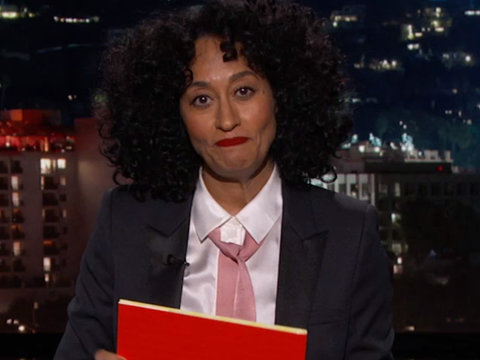 Tracee Ellis Ross Uses Children's Book to Teach Men Sexual Harassment
