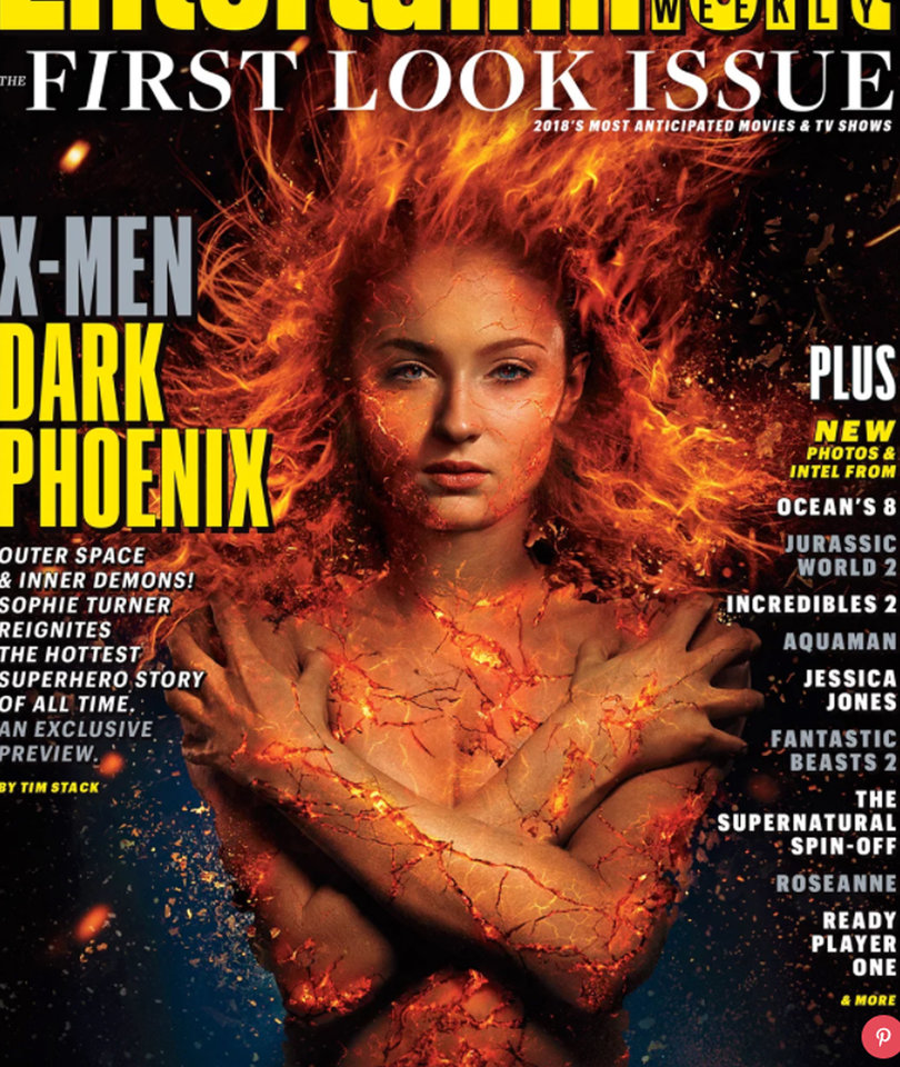 Sophie Turner Is on Fire in First Look at 'X-Men: Dark Phoenix'