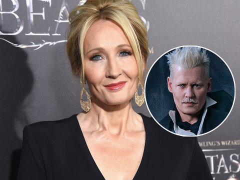 Potterheads Pile on J.K. Rowling for 'Troubling' Defense of Johnny Depp