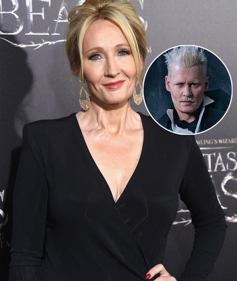 Potterheads Pile on J.K. Rowling for 'Troubling' Defense of Johnny Depp