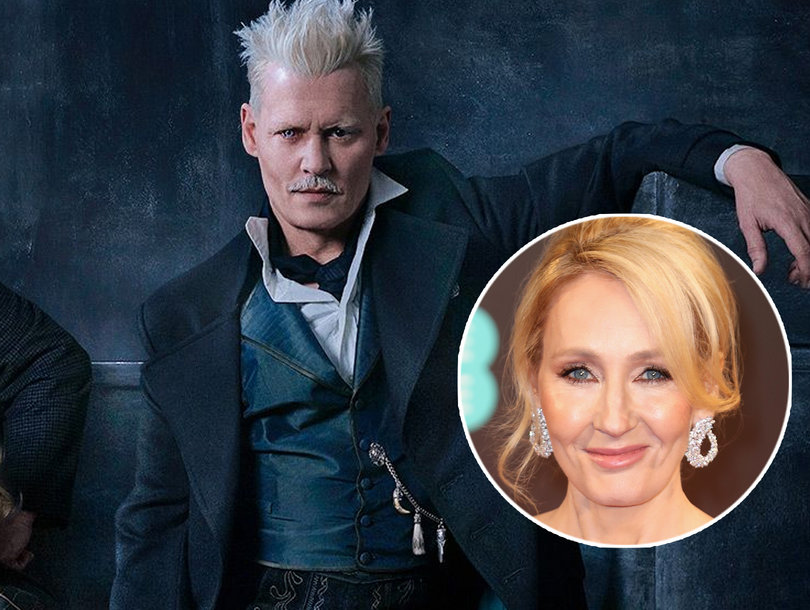J.K. Rowling Defends Casting Alleged Abuser Johnny Depp in 'Fantastic Beasts'
