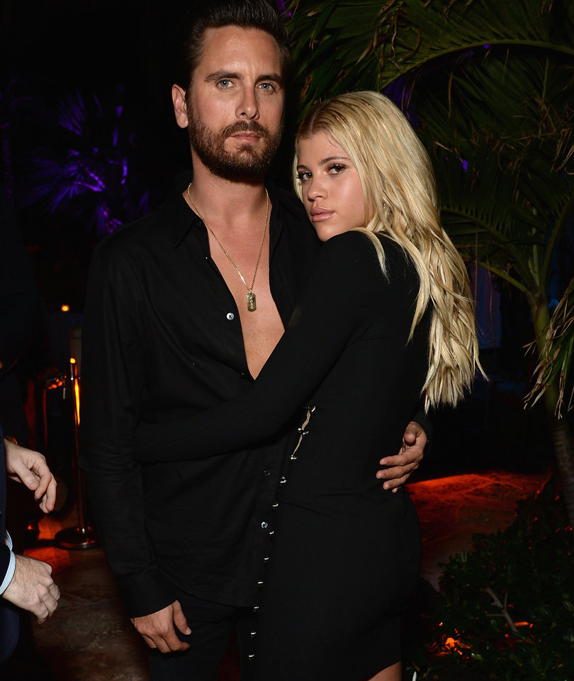 Scott Disick Cozies Up to Sofia Richie at First Public Event as a Couple