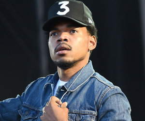 Chance the Rapper Slips on Invisibility Cloak During Live Weather Report