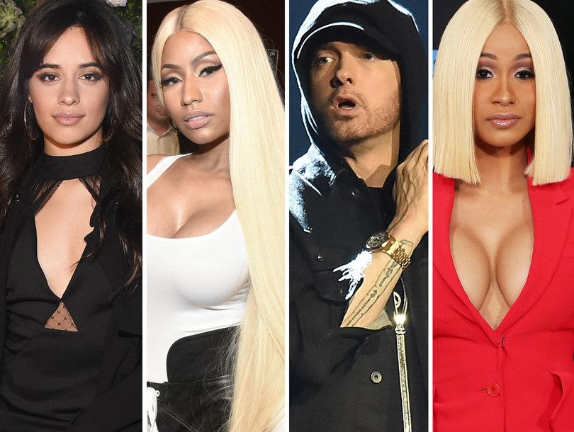 12 Songs You Gotta Hear: Camila Cabello, Nicki Minaj, Eminem, Cardi B