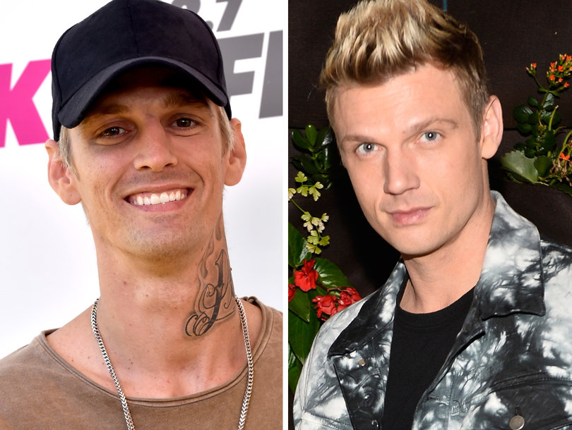 Aaron Carter Squashes Beef With Brother Nick on His Birthday