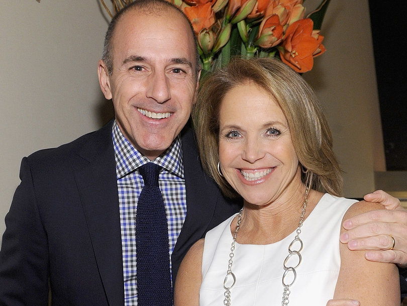 Katie Couric Will Share Her Thoughts on Matt Lauer Whenever She Damn Well Pleases