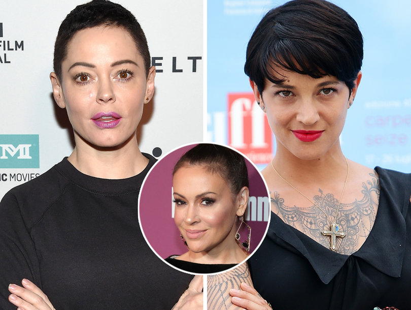 Rose McGowan, Asia Argento Call Out Alyssa Milano for Wishing Harvey Weinstein's Wife Well on 'Today'