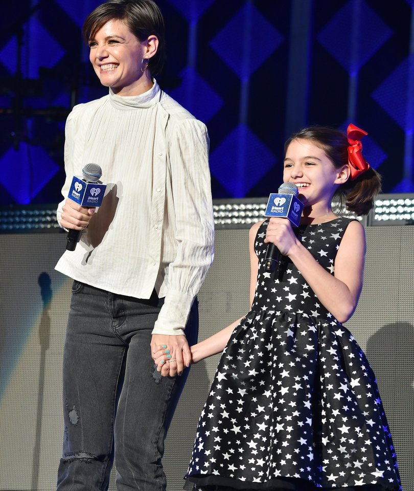 Suri Cruise Adorably Introduces Taylor Swift at NYC Jingle Ball