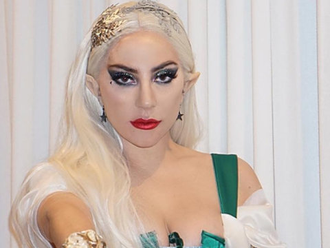 Lady Gaga Dresses as 'Mistress Claus' for Haus of Gaga Holiday Party