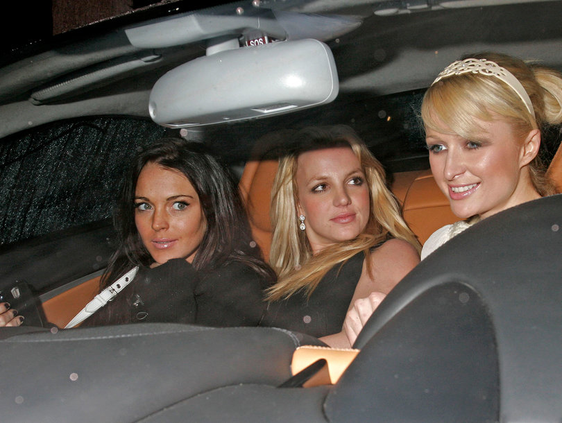 Paris Hilton Low-Key Shades Lindsay Lohan About That Britney Spears Holy Trinity Photo