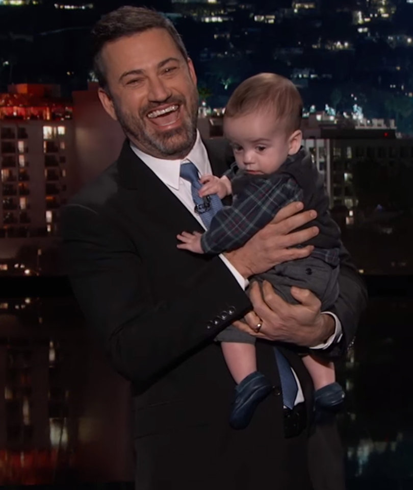 Kimmel Brings Son on TV to Urge Congress to #FundCHIPNow