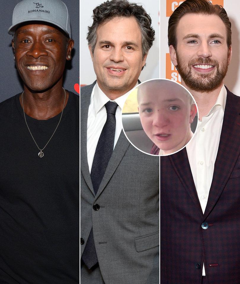 'Avengers' Stars in Civil War Over Bullied Teen Keaton Jones