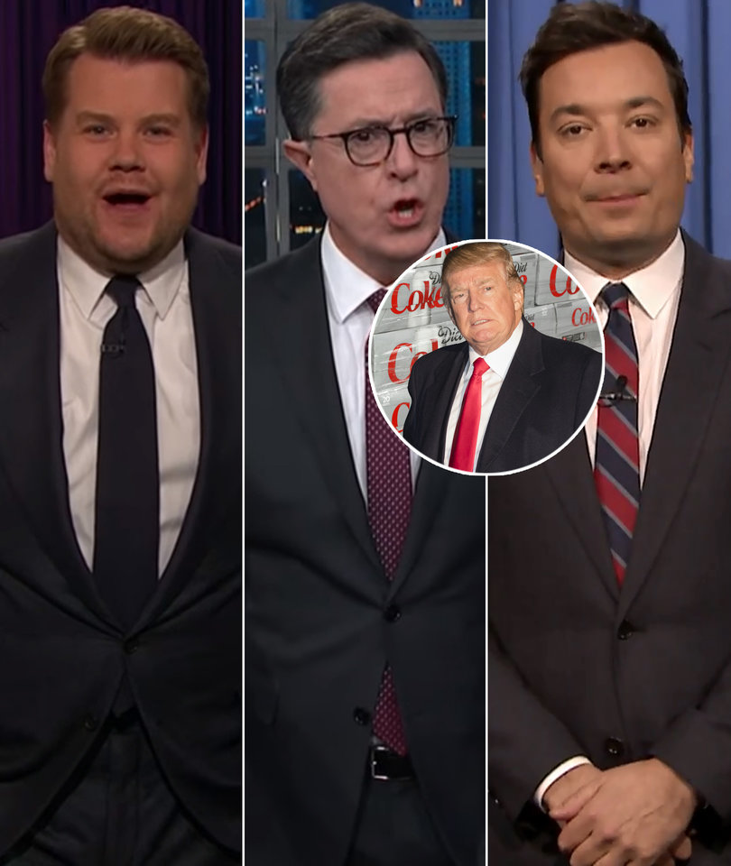 Late-Night Hosts LOL at Donald Trump's Diet Coke Addiction