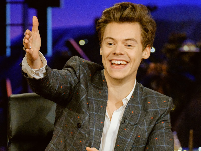 Harry Styles Drags Donald Trump, Roy Moore and James Corden in 'Late Late Show' Takeover