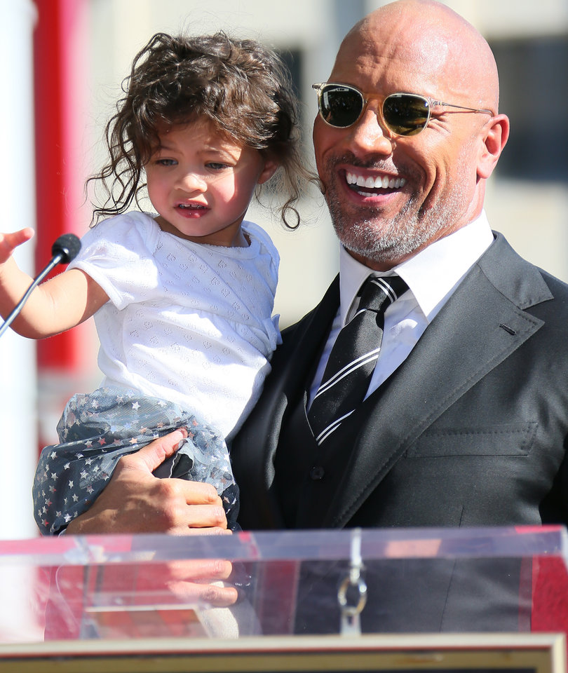 Dwayne 'The Rock' Johnson Honored with a Star on the Walk of Fame