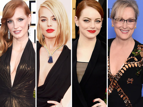 How Hollywood's Top Actresses May Protest Harassment at the Golden Globes