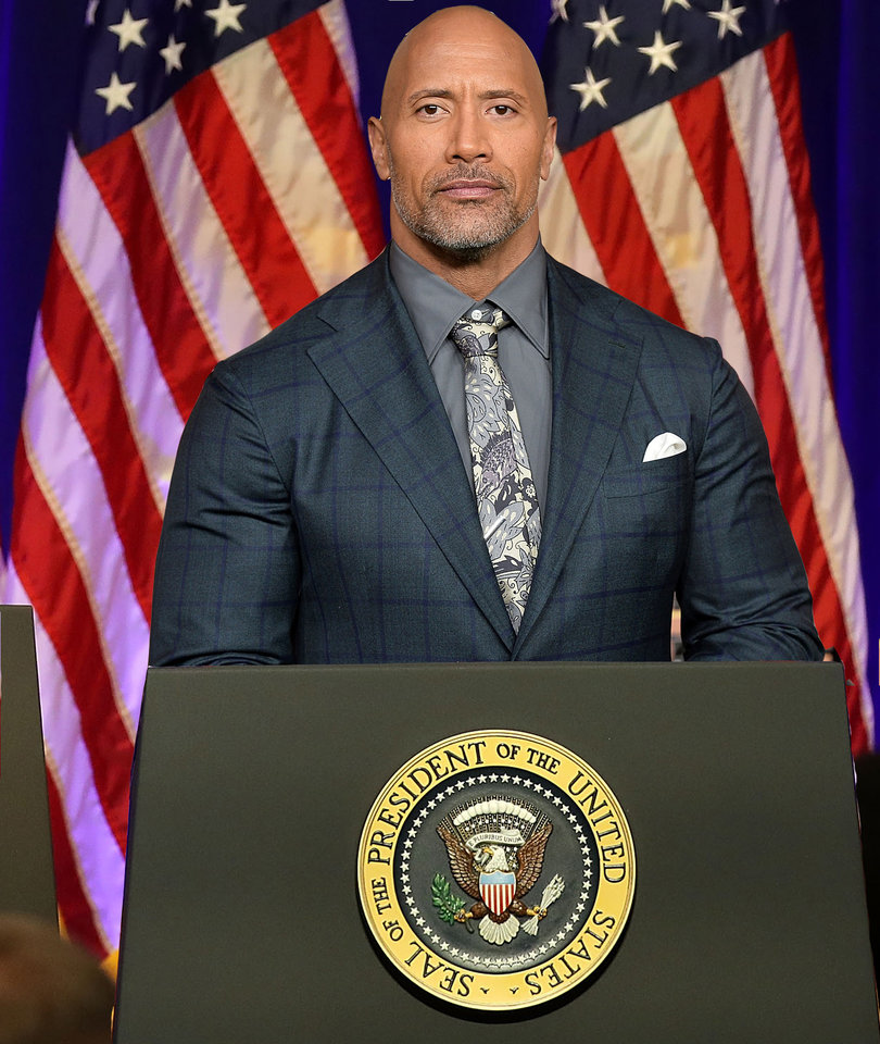 Dwayne 'The Rock' Johnson Won't Be Running for President Against Trump