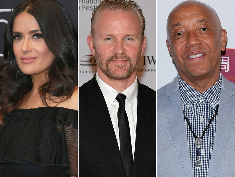 Today in Hollywood Harassment: Weinstein Responds to Salma Hayek, Russell Simmons Denies, Morgan Spurlock Confesses