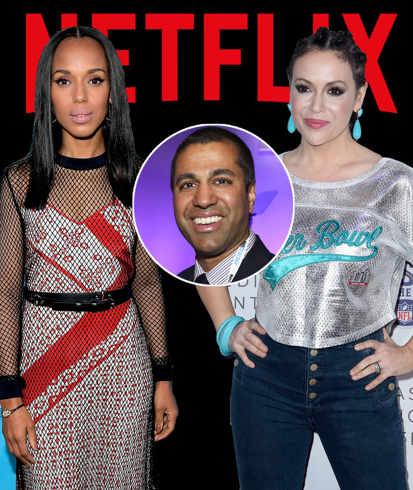 Netflix and Hollywood Stars Slam FCC's Decision to Destroy Net Neutrality