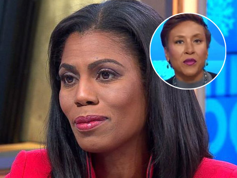 Twitter Gives Robin Roberts Standing Ovation for Saying 'Bye, Felicia' to Omarosa