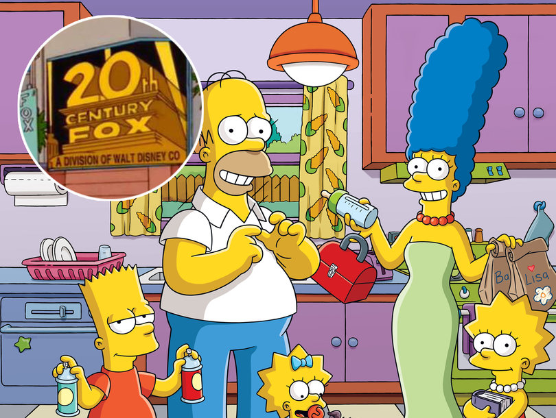'The Simpsons' Predicted Disney-Fox Merger and These 18 Other Real-Life Moments