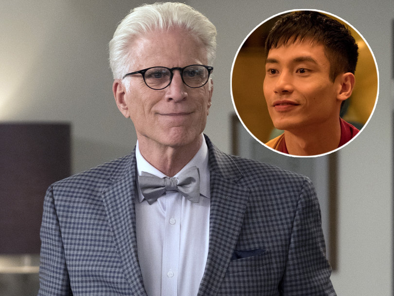 Why 'Good Place' Star Manny Jacinto Thinks Ted Danson Saved the Four From the Bad Place