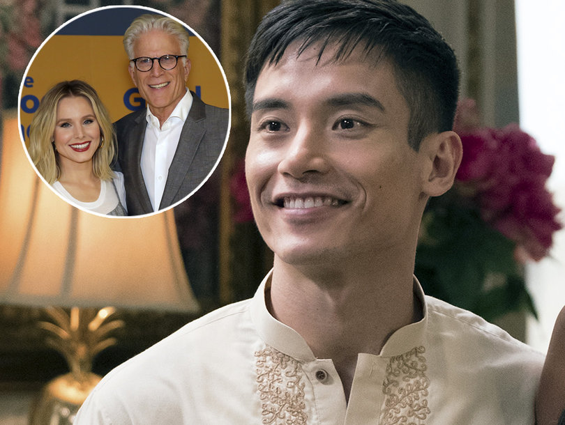'The Good Place' Star Manny Jacinto Talks 'Fangirling' Over Co-Stars Kristen Bell and Ted Danson
