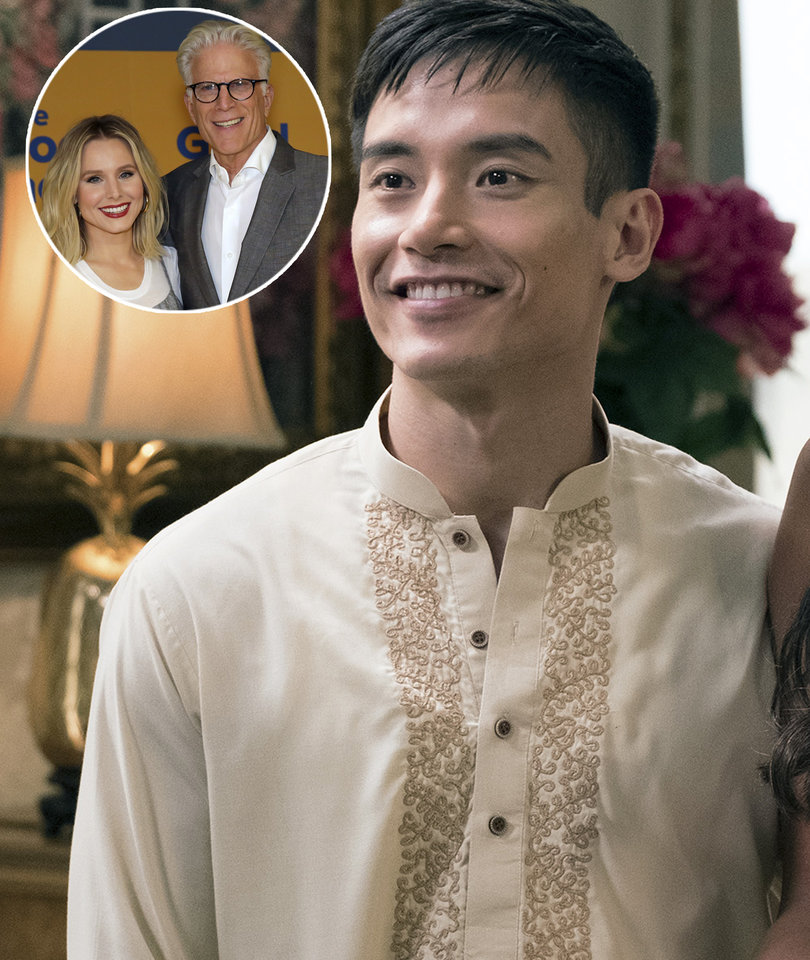 'The Good Place' Star Manny Jacinto Talks 'Fangirling' Over Co-Stars Kristen…