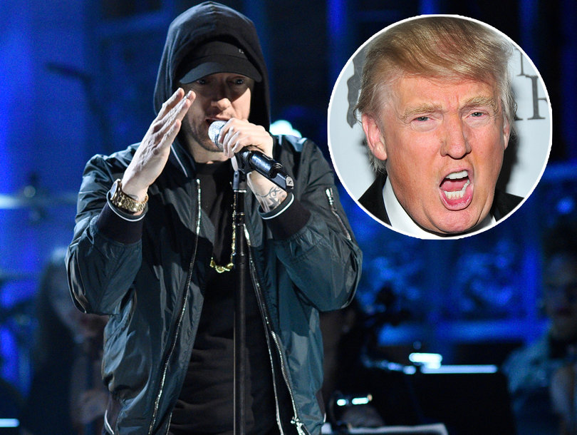 Eminem Compares Donald Trump to Hitler on 'Revival,' Raps About Daughter Hailie