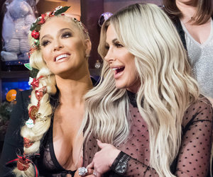 Kim Zolciak Fangirls Hard While Meeting Erika Girardi for First Time on 'WWHL'