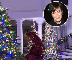 There's a Giant Polar Bear in Kris Jenner's Living Room