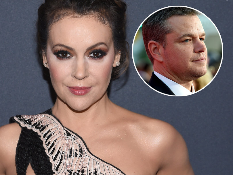 Alyssa Milano Puts Matt Damon On Blast Over Sexual Misconduct Interview