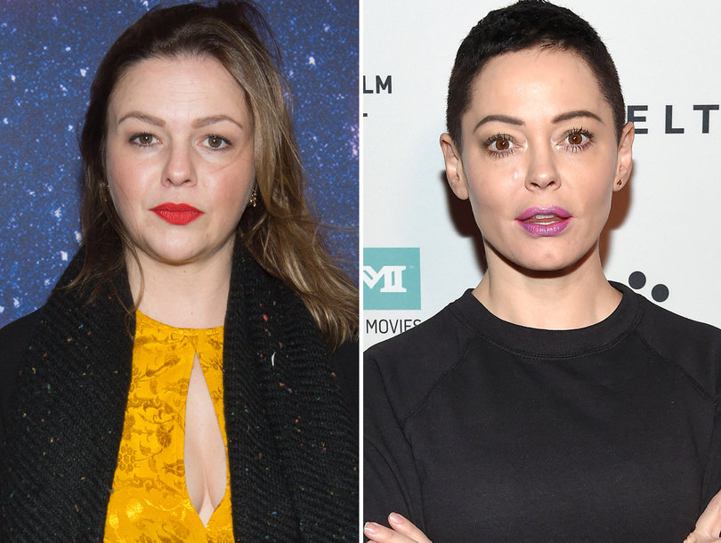 Amber Tamblyn Sparks Hollywood Twitter Feud by Accusing Rose McGowan of 'Shaming' Women