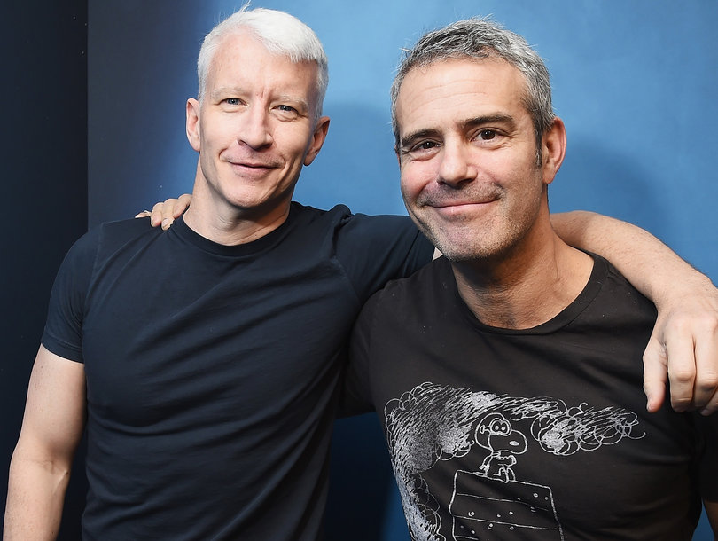 BFFs Anderson Cooper and Andy Cohen Reveal Who 'Has the Higher Freak Number in Bed'